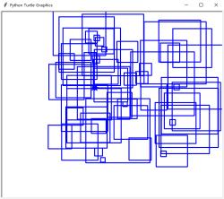 Multiple Squares Different Sizes