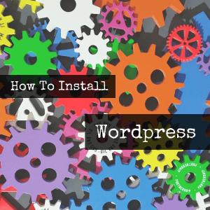 Wordpress Installation (Siteground)