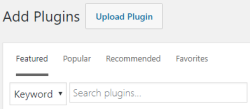 Add New Plugins (WordPress)
