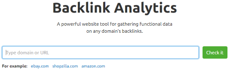 SEMrush Backlink Analytics Tool