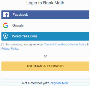 Login or Register - Rank Math