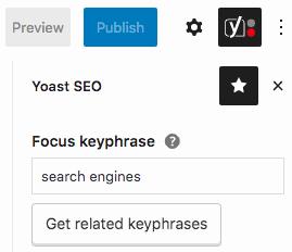 Focus Keyphrase - Yoast SEO Plugin