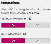 Yoast SEO integration 3rd-party SEO tools