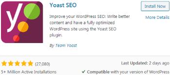 Yoast SEO WordPress (WP) Plugin