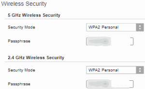 Wi-Fi Wireless Security (Linksys Router)