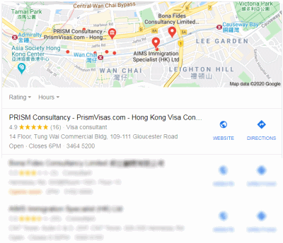 Google Maps with User Reviews