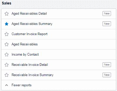 Xero Sales Reports